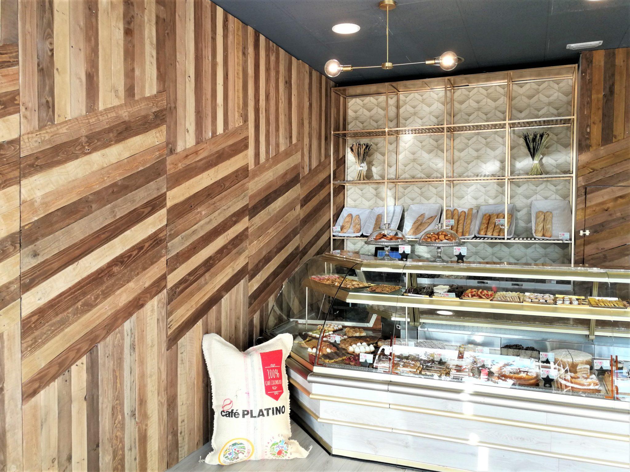 dpales. panelado madera reciclada